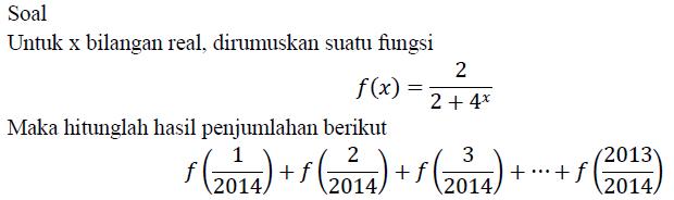 Soal Olimpiade Matematika Seribu Rumus